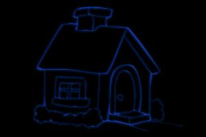 imagen para colorear guarderia